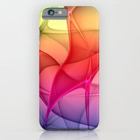 iPhone Cases featuring Color Flash by gabiw Art