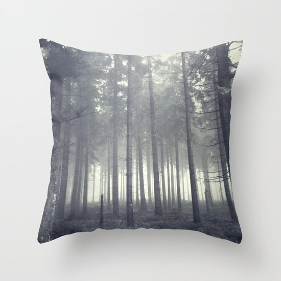 n ever mind Throw Pillow