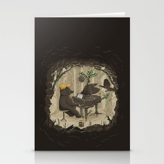 Forestal Sounds Stationery Card