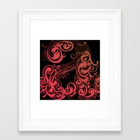 A A Framed Art Print