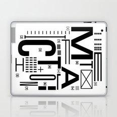 METAL FICTION Laptop & iPad Skin