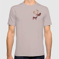 Moose Mens Fitted Tee Cinder SMALL