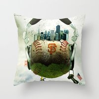Academy Of Art Throw Pillow