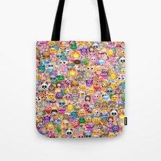 emoji / emoticons Tote Bag