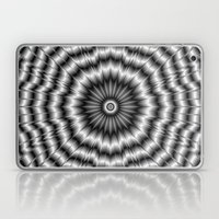 Silver Rosette Laptop & iPad Skin
