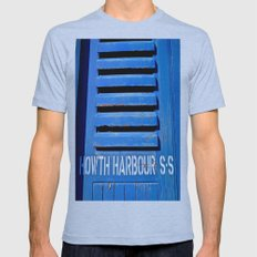 Howth Harbour Shutter Mens Fitted Tee Athletic Blue SMALL