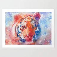 Art Print featuring Staring Into Your Soul by Aurora Wienhold