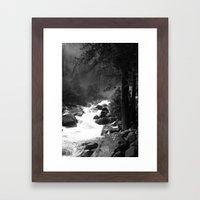 Whiteout Yosemite-2 Framed Art Print