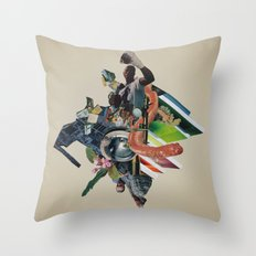 Bull Run Throw Pillow