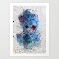 blue lover Art Print