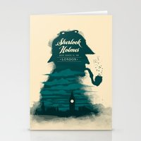 Elementary, my dear Watson. Stationery Cards