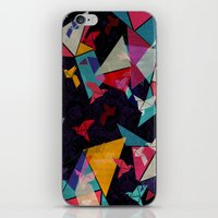 Origami Flight iPhone & iPod Skin