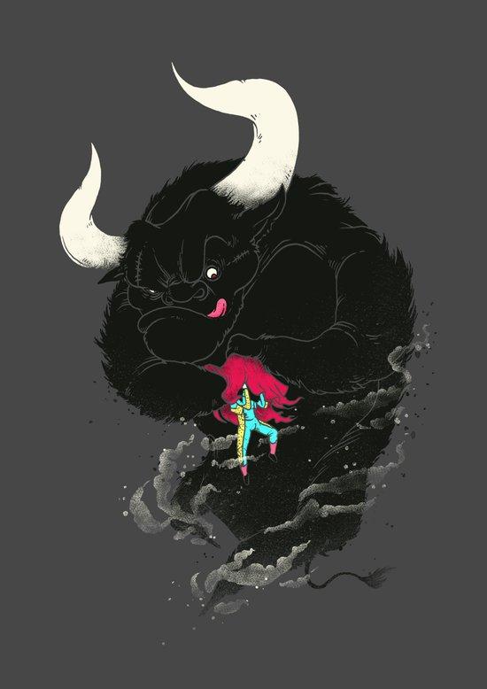 Bullfighting Art Print