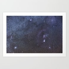 Orion Widefield Art Print