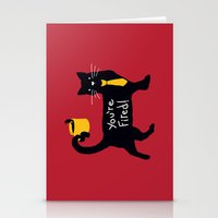 The Bossy Cat Stationery Cards