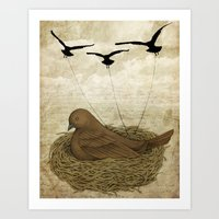 The Returning Children Art Print