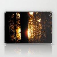 Sunset Through the Woods Laptop & iPad Skin