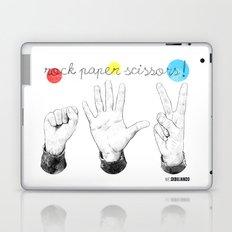 Rock Paper Scissors Laptop & iPad Skin