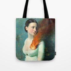 Portrait Of A Heart  Tote Bag