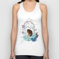 Delicate Distraction Unisex Tank Top