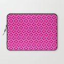 Pink Trefoil Laptop Sleeve