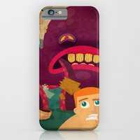 giant octopus iPhone 6 Slim Case