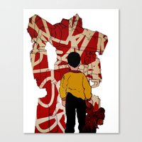 Graffiti Transformer Canvas Print