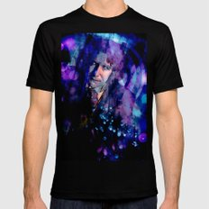 The Eighth Doctor Mens Fitted Tee Black SMALL