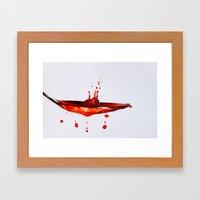 Table Spoon Framed Art Print