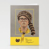 moonrise kingdom Stationery Cards featuring Moonrise Kingdom by Soren Barton