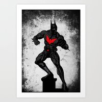 Beyond The Dark Night Art Print