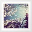Spring Ray. Art Print