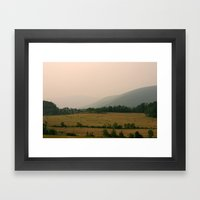 West Virginia Farmer Framed Art Print