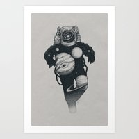 Art Prints featuring We are all made of stars by pakowacz