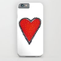 iPhone & iPod Case featuring I HEART YOU by SheThinksinColors