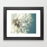 Blue Dandy Framed Art Print