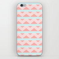 Pastel pattern iPhone & iPod Skin