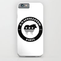 iPhone & iPod Case featuring Unaffiliated Party Badge by Unaffiliated Party