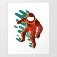 Space Distortion Art Print