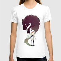 anime T-shirts featuring Werewolf by Freeminds