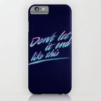 iPhone & iPod Case featuring Last Words by Dega Studios