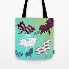 Dancing Fishes Tote Bag