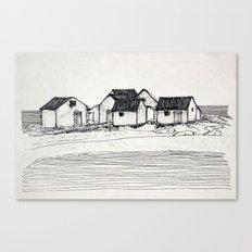 Les Galets de Natashquan Canvas Print