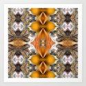 Symmetreats - Feline Frolic Art Print