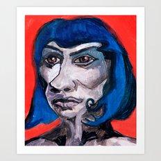 Maude Art Print