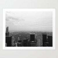 New York in Black and White Art Print