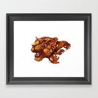 power of unity Framed Art Print