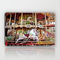 Double Decker Carnival Carousel  Laptop & iPad Skin