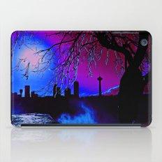 pink sky :o iPad Case