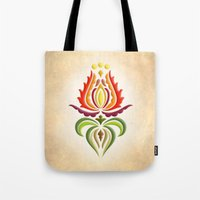 Fancy Mantle On White Tote Bag
